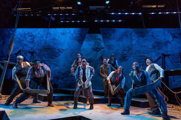 Photo Flash: SpeakEasy Stage Company presents MEN ON BOATS